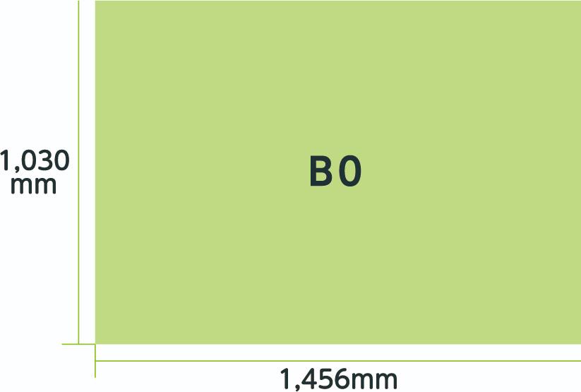ポスター規格B0