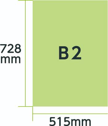ポスター規格B2
